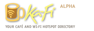 Ka-Fi: The café and Wi-Fi hotspot directory